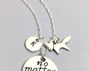 Fox Necklace, Customized, Fox Charm Necklace,Fox Jewelry, Fox Animal,Animal Necklace Gift,Animal Jewelry, Silver Fox Necklace,  Gift for Her