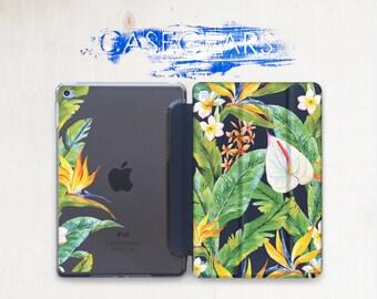 Tropical Flowers iPad Mini 3 Mini iPad 3 iPad Pro 9.7 Cover Exotic Case Case iPad 2 Floral iPad Case Floral Case iPad Pro 9.7 Case CGSC017