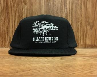 Vintage 90's Dillard House Inn Adjustable Snapback Cap