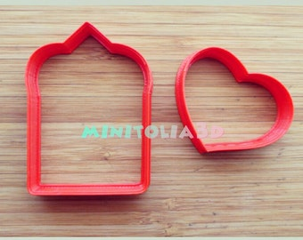 Love Envelope Cookie Cutter