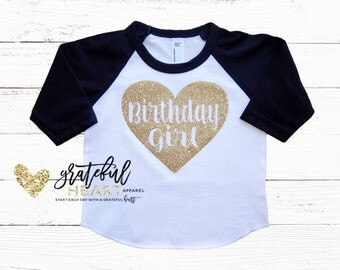 Birthday girl shirt, Baby girl birthday shirt, Girls birthday shirt, birthday girl