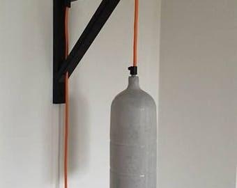 Pepper XL Wall lamp handmade concrete design