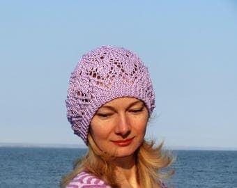 Laced hat ladies summer hat romantic gifts lavender bridesmaid gift summer clothing women birthday gifts french beret hat spring beanie