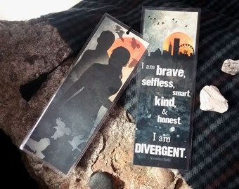Divergent Bookmark - Homemade