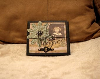 6x4 Vintage Distressed Mini Album