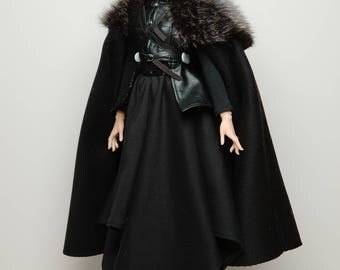 Queen in the North (GoT-inspired) | 1/3 BJD | Made to Order