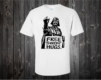 Free Throat Hugs Shirt - Funny Men's T-shirt - Shirts For Guys -  Gifts For Dad - Boyfriend Gift - Gifts Under 20 - Funny Dad Shirt