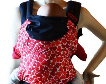 Backpack baby carrier, baby carrier, ergonomic backpack.