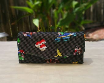 Mario Kart Phone Clutch Wallet