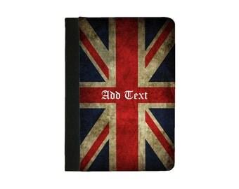 IPad 2 case,IPad 3 Case, Ipad 4 Case Ipad Air Case Ipad Air 2 Case Ipad Faux Leather Folio Case British Flag Case/Union Jack Folio Case