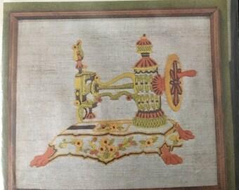 1973 Golden Bee Stitchery Antique Sewing Machine Kit