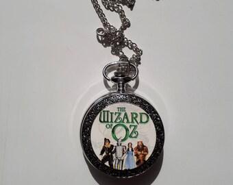 Wizard of Oz pocket watch locket