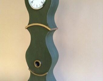 Miniature Swedish Grandfather Clock