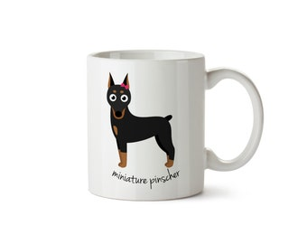 Miniature Pinscher Mug (girl)