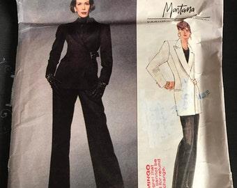 Vintage Vogue Ladies Dress Suit Pattern 1047