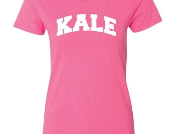 KALE T SHIRT , Eat Kale .Eat healthy,Yummy Kale, Kale Tee, Kale T shirt, KALE, Yale, Healthy Living,Curly Kale