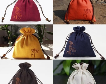Lotus Mala Bag- 6 Colors to choose from