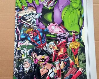 wildc.a.t.s silver embossed variant cover issue 1//image comics//first issues//1993