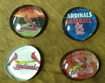 St. Louis Cardinals Magnets - Baseball Magnets - Sports Magnets - Birthday Gift