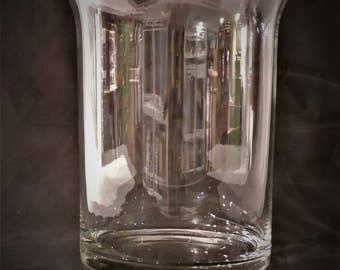 Vintage Crystal Ice Bucket/Vase