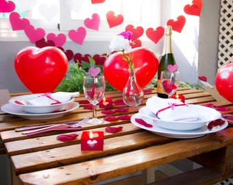 Kit decoration San Valentin / / Valentine's decoration set