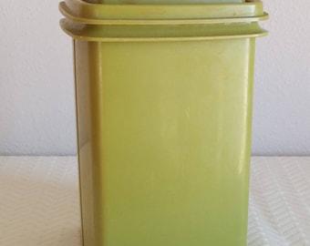 Vintage Avacado Green Tupperware Pickle Container, Vintage Avacado Green Tupperware Pickle Caddy, Vintage Tupperware, Vintage Kitchen