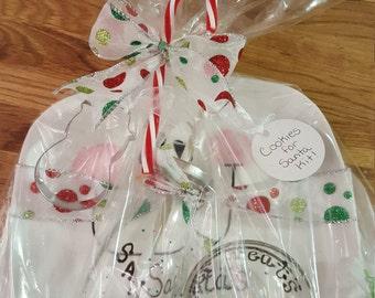 Cookies for Santa Kits,Christmas,Treats,Santa's Milk,Reindeer Treats,Cookie Cutters,Snowman,Night before Christmas,Cookie plate,