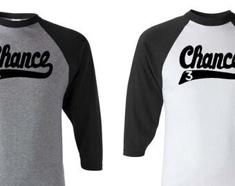Chance the Rapper Inspired Raglan Shirt - Baseball Shirt - No Problem - Coloring Book