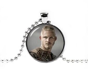 Bjorn Ironside Necklace Vikings Bjorn Ironside Pendant Fandom Jewelry Fangirl Fanboy