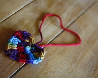 Rearview Mirror Heart for Refugees