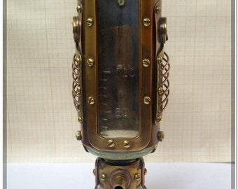 wineglass of steampunk
