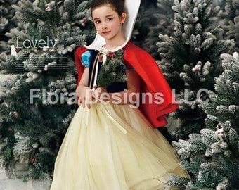 Snow white dress Snow white costume girls party birthday princess costume