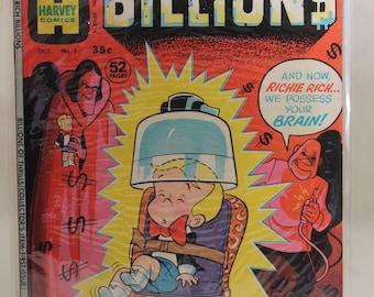 Richie Rich Billions #1. Harvey Comics. (1974)