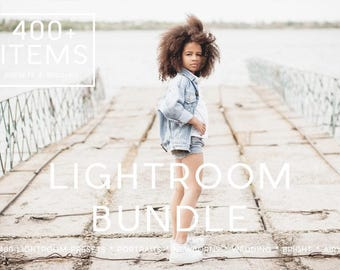 400 Professional Bundle Professional Portrait Editing 400 Presets for Portraits, Wedding and Newborns by LouMarksPhoto