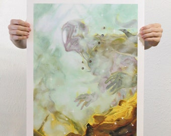 "Giclee Art Print - ""Through the Aether"""