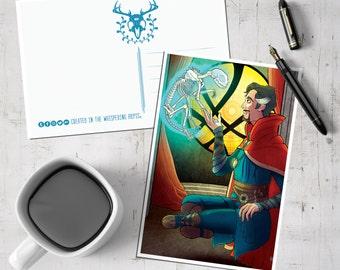 Doctor Strange Postcard