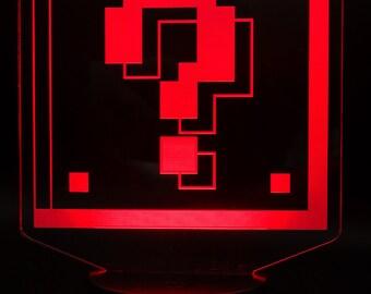 Mario Question Block LED Light Display