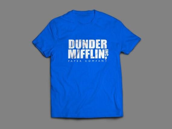 "The Office ""Dunder Mifflin Inc"" Shirt S-4XL and Long Sleeve Available"