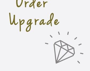 Order upgrade for ziime handcrafted jewelry
