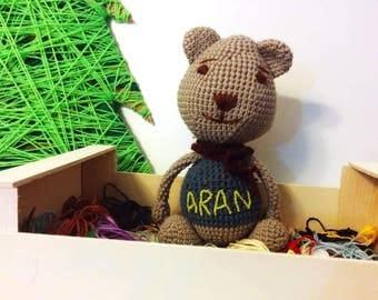 Osito de peluche personalizado / Personalized Teddy Bear