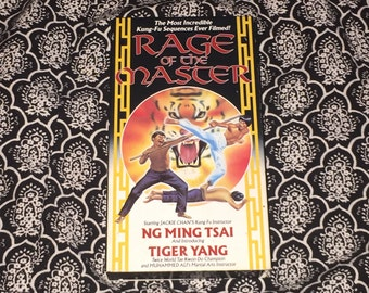Rage of the Master [VHS] Kung Fu Rare Vintage Classic 1980's Martial Arts Film Action