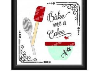 Bake Me a Cake SVG