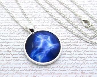 Harry Potter Patronus, Silver Hare Patronus, Luna Lovegood Necklace or Keychain, Keyring