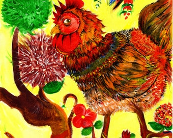 Digital art, painting, illustration,disegno d'appendere,  pet illustration, fantasy illustration, print