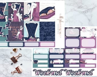 H.R.H: Weekly Planner Sticker Kit