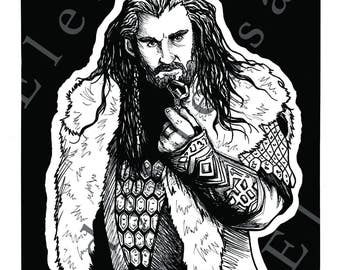 The Hobbit - 11'' x 13'' Prints - Ink Drawings