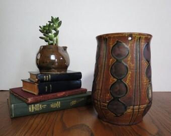 Mid Century Modern MCM Ceramic Vase Made in Japan
