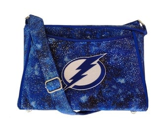 Tampa Bay Lightning Purse / Handbag / Shoulder Bag