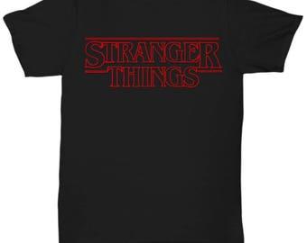 Stranger Things shirt Tee  T-shirt  S - M - L - XL - XXL - XXXL  , Tv Show/Sci Fi/ Netflix Series shirt