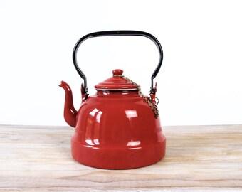 Tea kettle with lid etsy - Bouilloire electrique retro ...